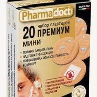 Pharmadoct Premium plaastrid 25tk