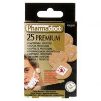 Pharmadoct Premium ümarad plaastrid 2,5 cm, 25 tk pakis