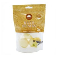 Elysium Spa vanilje vannipallid. 3 tk pakis