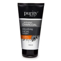 Purity Plus näopesugeel aktiivsöega. 150 ml