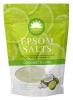 Elysium Spa Epsom kookose ja laimi vannisool, 450 g