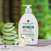 Dermaflora 0% vedelseep Aloe Vera, 400 ml