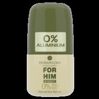 Dermaflora 0% rulldeodorant meestele, 50 ml