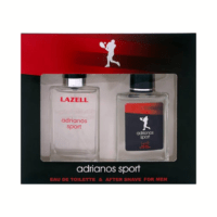Lazell kinkekomplekt meestele Adrianos Sport. 100 ml edT ja 100 ml aftershave