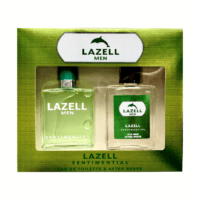 Lazell kinkekomplekt meestele Sentimental Men. 100 ml edT ja 100 ml aftershave