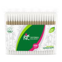 Normal Clinic bambusest vatitikud. 100 tk kotis