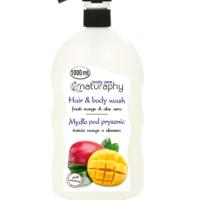 Naturaphy mango duši- ja juuksepesugeel 1000 ml