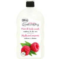 Naturaphy vaarika duši- ja juuksepesugeel 1000 ml