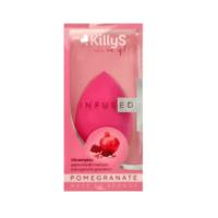 KillyS 3D eriti pehme meigikäsn granaatõunaekstraktiga