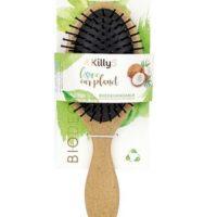 KillyS biolagunev kookosest juuksehari, ovaalne